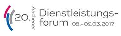 Logo 20. Aachener Dienstleistungsforum 2017